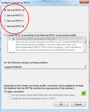 PDF Presets